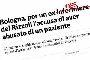 Bologna, ex dipendete del Rizzoli accusato di aver abusato di un paziente
