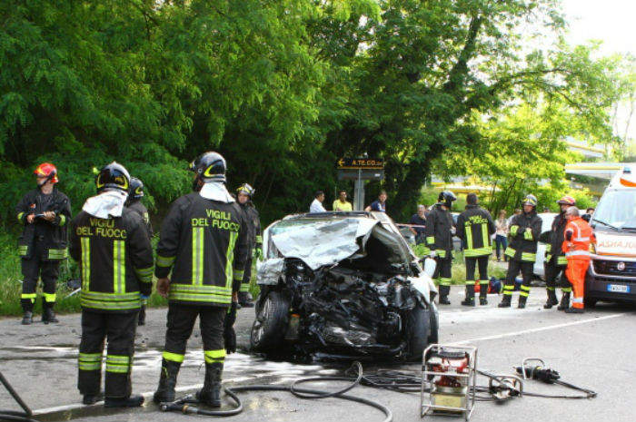 alessandria incidente mortale