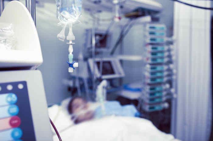 paziente in terapia intensiva