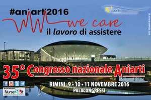 We Care, il lavoro di assistere. Il 35° Congresso Nazionale Aniarti