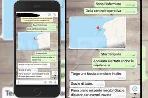 Salvata escursionista, 118 individua posizione con Whatsapp