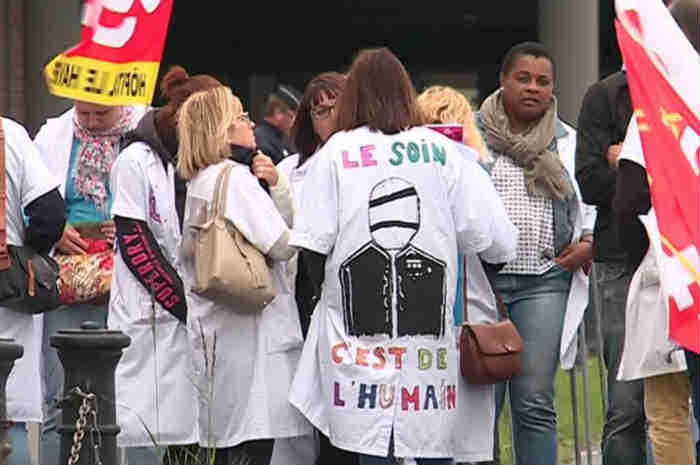 manifestazione francia