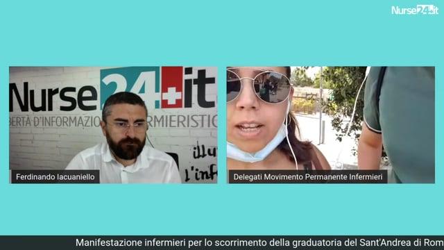 Infermieri della graduatoria del Sant'Andrea incontrano la Regione Lazio