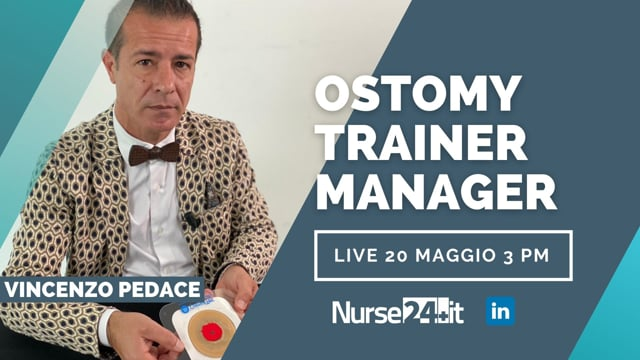 Ostomy Trainer Manager cosa fa Vincenzo Pedace