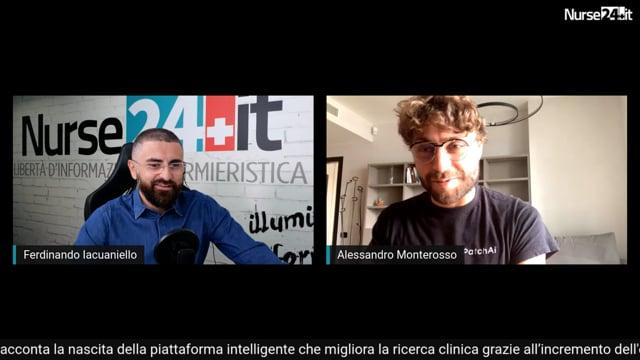 Infermiere e startupper - Alessandro Monterosso CEO di Patchai