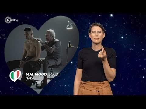 Soldi di Mahmood in versione LIS