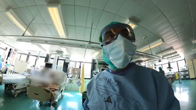 Viaggio a 360 gradi dentro il reparto di terapia intensiva di Rovereto