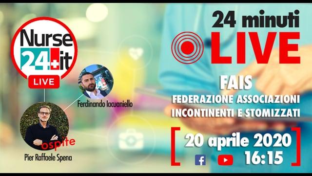 24 minuti Live - FAIS 20 aprile 2020