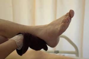 OSS. Come prendersi cura dei piedi del paziente