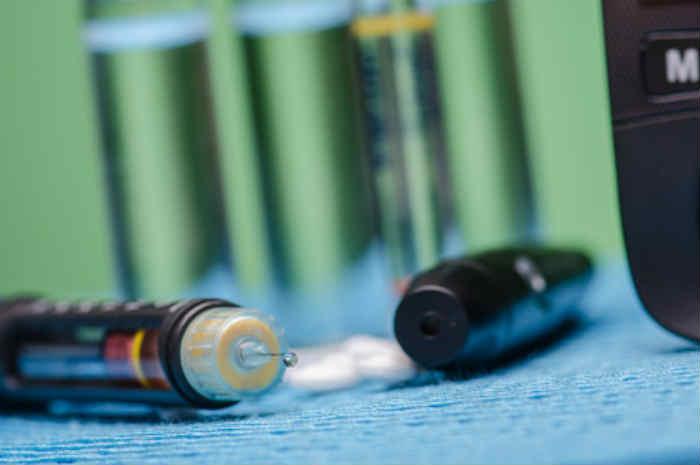 penna per somministrazione insulina
