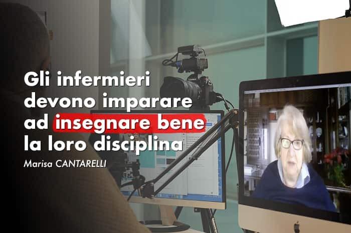 Marisa Cantarelli: ci vogliono infermieri a gestire l'Università