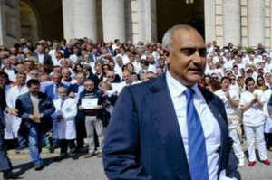 Cardarelli, il dg Verdoliva arrestato per corruzione