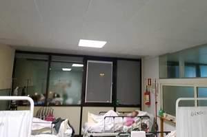 Pozzuoli, il reparto inaugurato ma i pazienti sono in corridoio