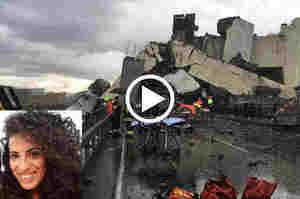 Genova, crolla il ponte Morandi sull'autostrada A10