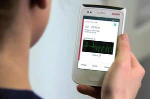 Uno smartphone per gli infermieri