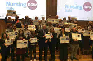 Nursing Now Italy, investire sugli infermieri è necessario