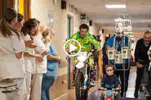Mototerapia, Vanni Oddera: Cerco di dare indietro la mia fortuna