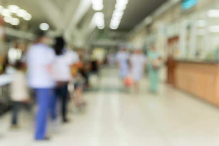 Sala d'attesa di ospedale