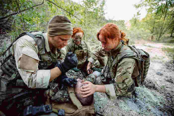 Tactical Combat Casualty Care, approccio al militare ferito