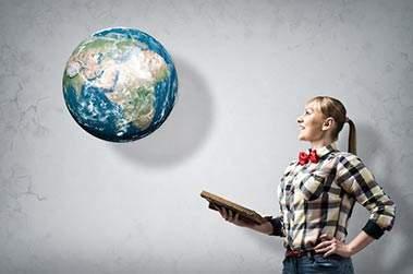 studente e il mondo