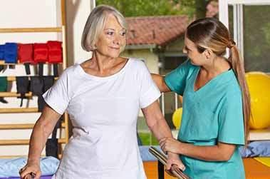 paziente fisioterapia