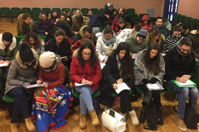 Gli studenti infermieri di Ascoli Piceno
