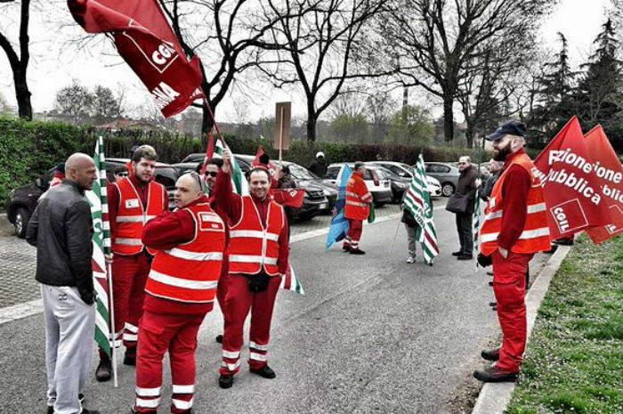 sciopero ambulanze bologna