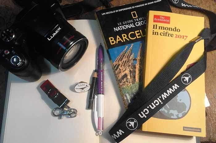 Viaggiando verso Barcellona e il congresso internazionale