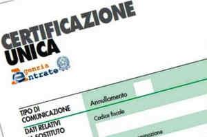 Certificazione Unica 2018, istruzioni per l'uso