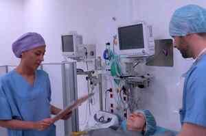 Flow Chart preparazione paziente all'intervento chirurgico