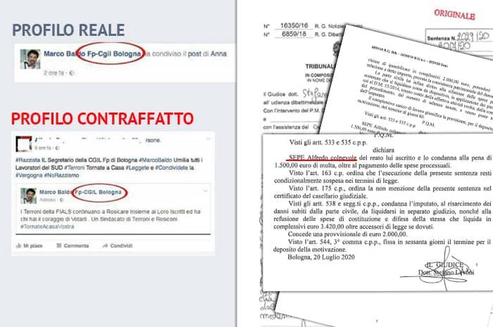 Diffamazione aggravata, condanna in I° grado per Alfredo Sepe