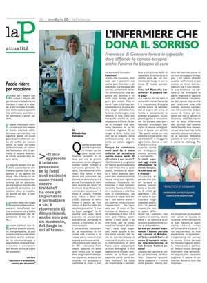 L'infermiere e comico Di Gennaro da Bari alla Padania Leghista
