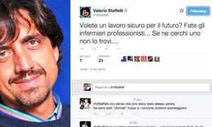 Tapiro d'oro a Valerio Staffelli dagli infermieri italiani