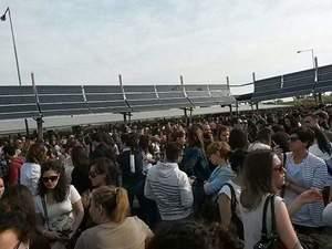 La marcia su Modena, 6.500 infermieri alla preselezione del concorso