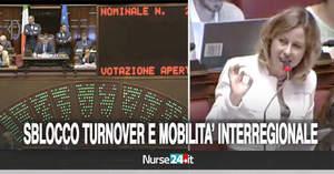 Mobilità interregionale e sblocco turnover: Sì della Camera alla...
