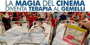 Magia Cinema: da Marzo nuova terapia Policlinico Gemelli