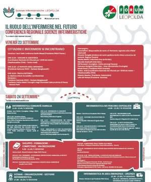 Leopolda Infermieri: conferenza regionale di Scienze Infermieristiche