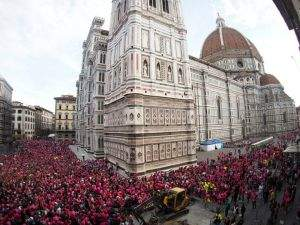 Firenze accoglie Corri la Vita