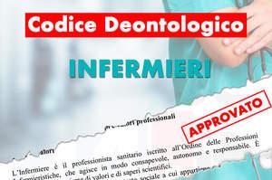 Approvato il nuovo Codice Deontologico degli infermieri